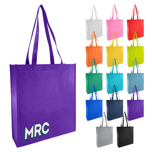 Large Gusset Non Woven Promotional Bag