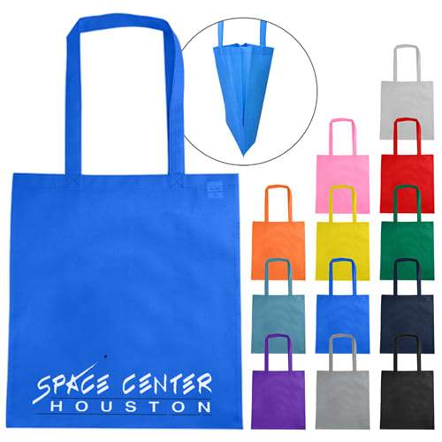 Non Woven Tote With V Gusset