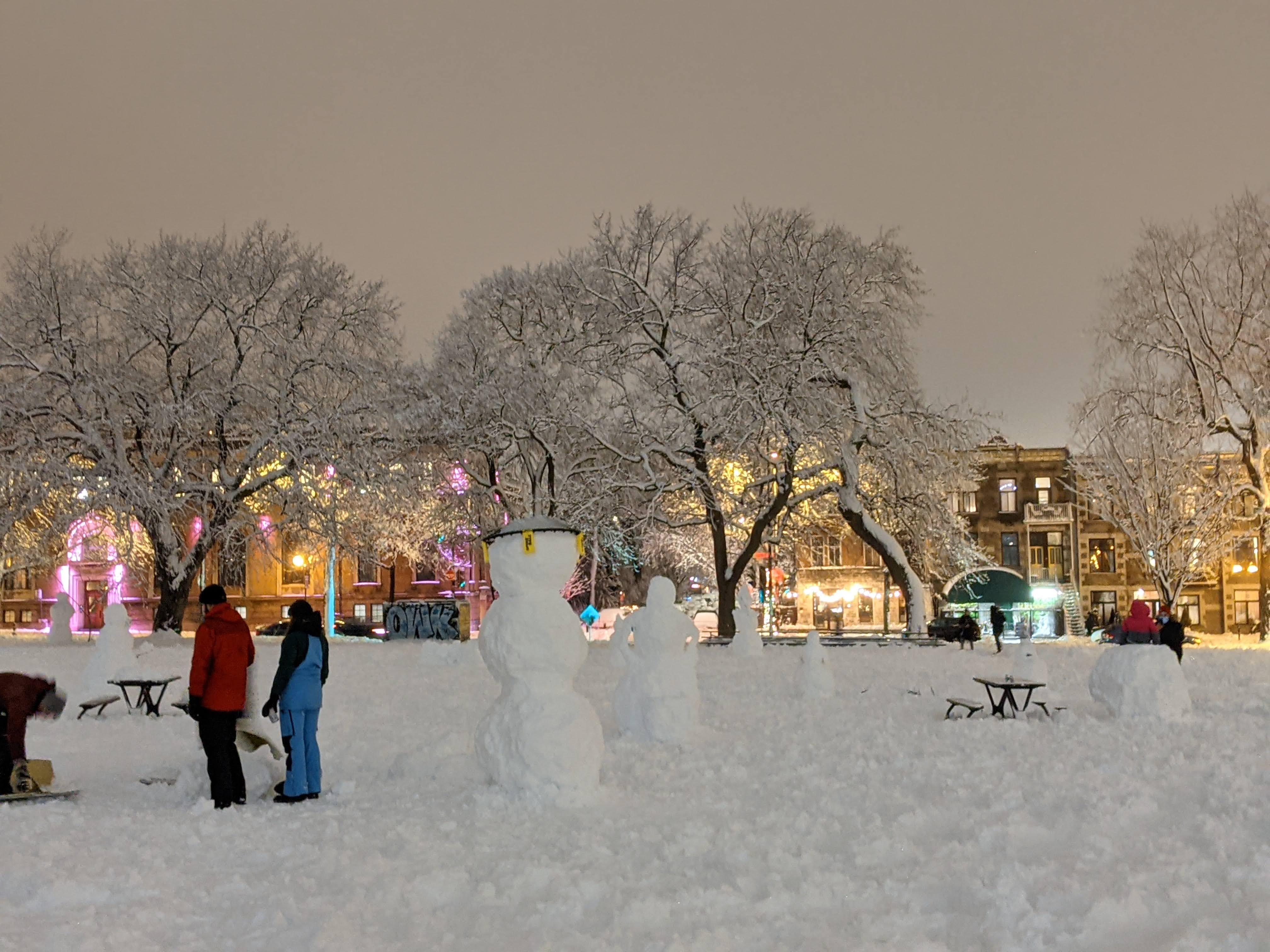 加拿大雪人