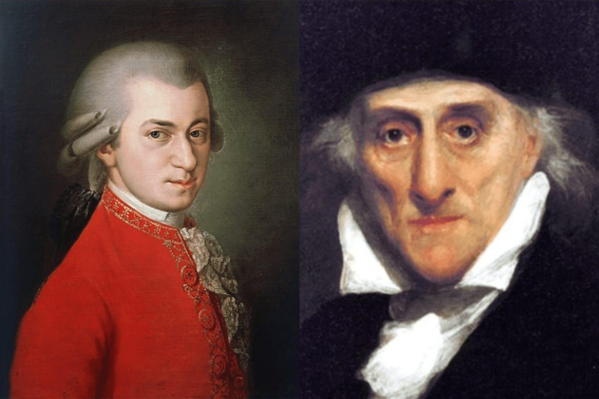 VEČER MOZARTA Triptih Mozarta -  Da Pontea