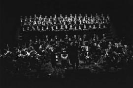 Izvedba <em>Devete simfonije</em> Ludwiga van Beethovena