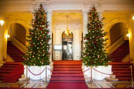 Održan božićni domjenak u HNK