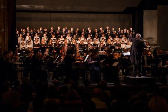 Izvedena <em>Deveta simfonija</em> Ludwiga van Beethovena 13