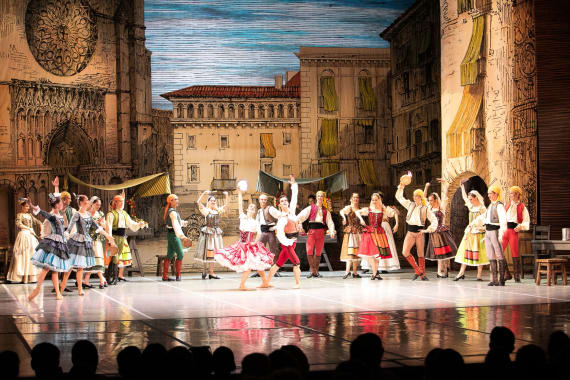 Održane predstave <em>Don Quijote </em> i <em> Giselle </em>