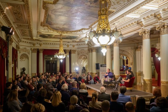 Američki povjesničar Eric Kurlander gostovao u HNK u Zagrebu 3
