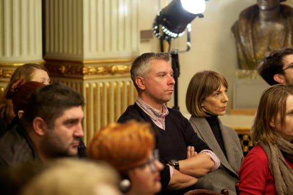 Američki povjesničar Eric Kurlander gostovao u HNK u Zagrebu 2