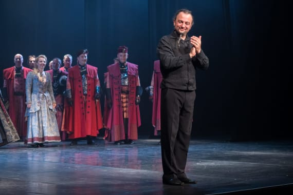 Stajaće ovacije nakon izvedbe opere <em>Nikola Šubić Zrinjski</em> 12