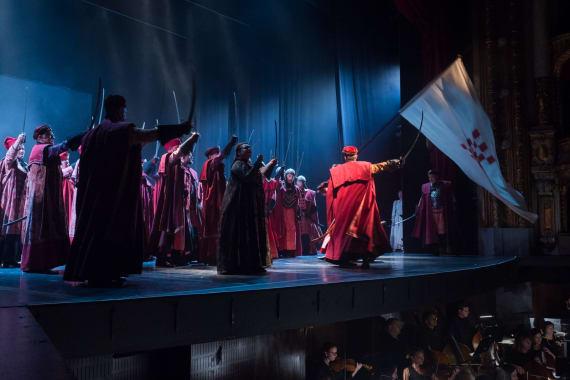 Stajaće ovacije nakon izvedbe opere <em>Nikola Šubić Zrinjski</em> 7