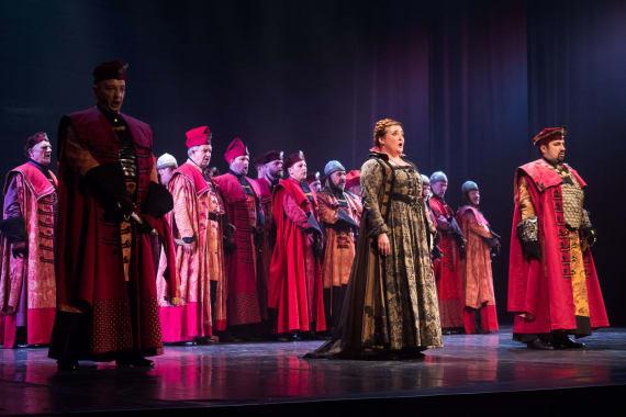 Stajaće ovacije nakon izvedbe opere <em>Nikola Šubić Zrinjski</em> 6