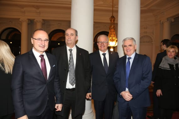 Održan svečani koncert povodom početka hrvatskog predsjedanja Vijećem Europske unije 18