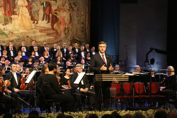 Održan svečani koncert povodom početka hrvatskog predsjedanja Vijećem Europske unije 3