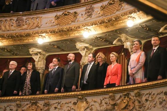 Održan svečani koncert povodom početka hrvatskog predsjedanja Vijećem Europske unije 2