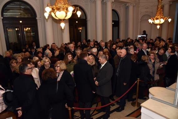 Narodno pozorište u Beogradu gostovalo s predstavom <em>Gospođa ministarka</em> 1