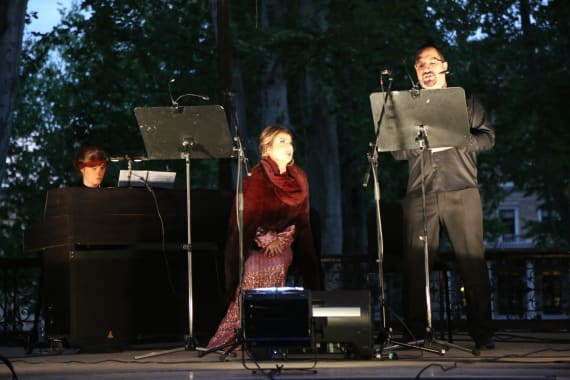 Mali operni spektakl na Zrinjevcu 11