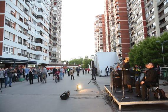 U opernim arijama uživali stanovnici zagrebačkog naselja Travno 7