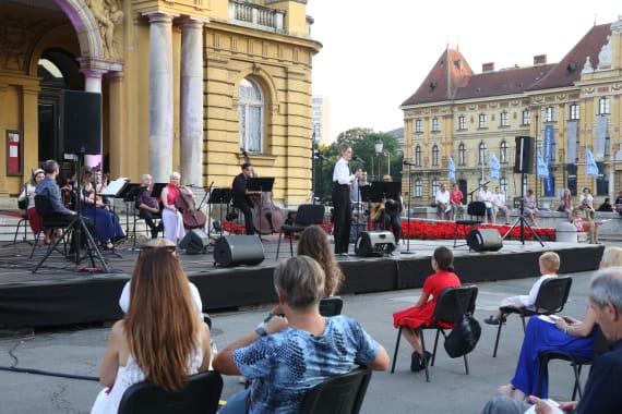 Uz <em>Europske jazz šlagere</em>  završile <em>Ljetne večeri HNK u Zagrebu</em> 5
