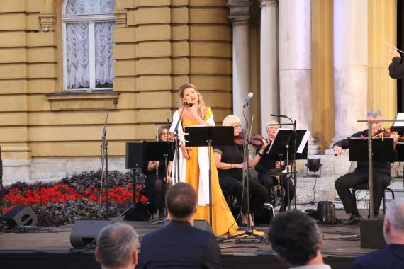 Otvorenje <em>Ljetnih večeri HNK u Zagrebu</em> - <em>Mediteranska noć</em> 2
