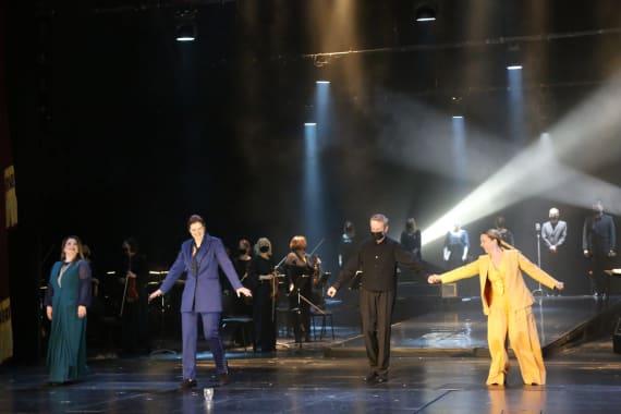 Dugotrajni aplauz publike na svečanoj premijeri opere <em> Orfej i Euridika</em> 10