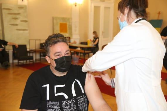 Cijepljenje umjetnika i djelatnika kazališta 2