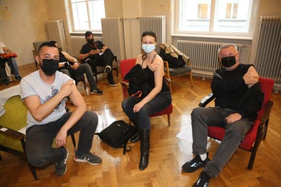 Cijepljenje umjetnika i djelatnika kazališta 13
