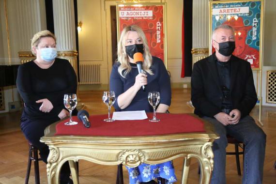 Dramske premijere <em>Aretej</em> i <em>U agoniji </em> Miroslava Krleže u režiji Ivice Buljana 7