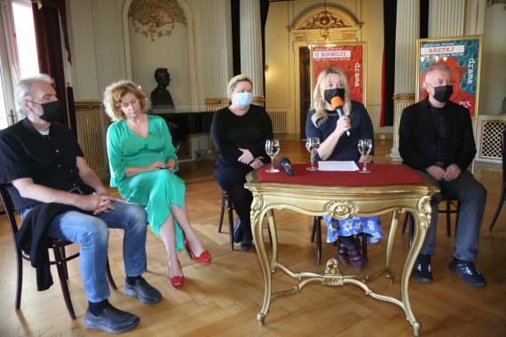 Dramske premijere <em>Aretej</em> i <em>U agoniji </em> Miroslava Krleže u režiji Ivice Buljana 1