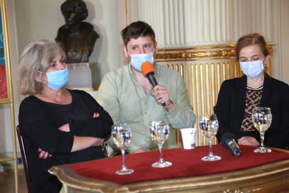 Dramske premijere <em>Aretej</em> i <em>U agoniji </em> Miroslava Krleže u režiji Ivice Buljana 9