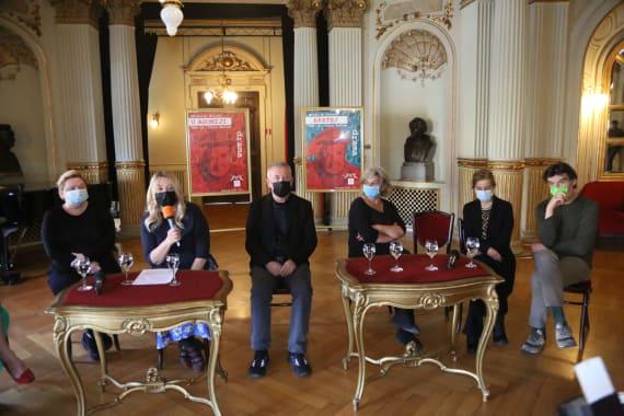 Dramske premijere <em>Aretej</em> i <em>U agoniji </em> Miroslava Krleže u režiji Ivice Buljana 10
