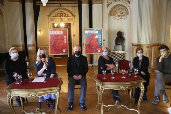 Dramske premijere <em>Aretej</em> i <em>U agoniji </em> Miroslava Krleže u režiji Ivice Buljana 3