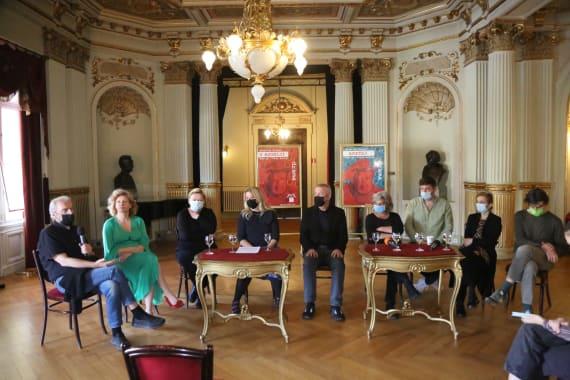 Dramske premijere <em>Aretej</em> i <em>U agoniji </em> Miroslava Krleže u režiji Ivice Buljana 11