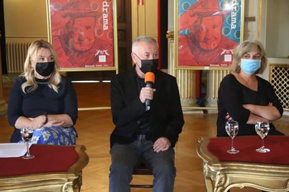 Dramske premijere <em>Aretej</em> i <em>U agoniji </em> Miroslava Krleže u režiji Ivice Buljana 13