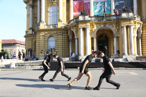 Hrvatskom praizvedbom <em>Ulomci iz koreografija Angelina Preljocaja </em> počeo <em> Festival Ljetne večeri HNK u Zagrebu</em> 5