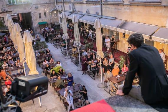 Poezija slavenskih pjesnika na festivalu <em> Sa(n)jam knjige u Istri</em> 8