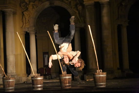 Otvorenje <em>Festivala svjetskog kazališta</em> uličnim spektaklom <em> Moby Dick</em> 2