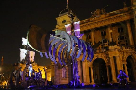 Otvorenje <em>Festivala svjetskog kazališta</em> uličnim spektaklom <em> Moby Dick</em> 4