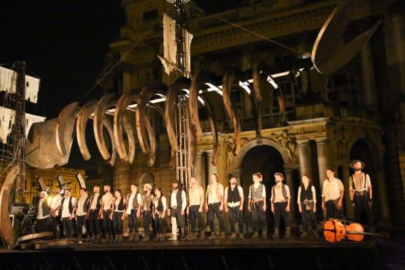 Otvorenje <em>Festivala svjetskog kazališta</em> uličnim spektaklom <em> Moby Dick</em> 6