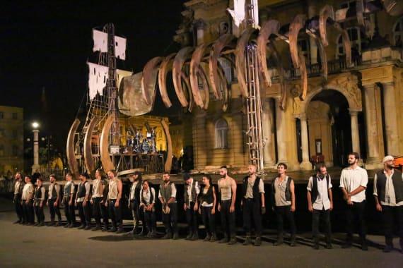 Otvorenje <em>Festivala svjetskog kazališta</em> uličnim spektaklom <em> Moby Dick</em> 7