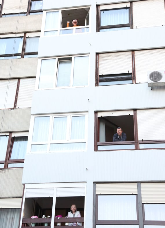 U opernim arijama uživali stanovnici zagrebačkog naselja Travno 11