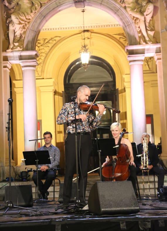 <em>Europski jazz šlageri</em> za kraj <em> Ljetnih večeri HNK u Zagrebu </em> 7