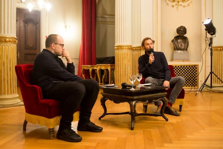Evgenij Morozov gostovao u HNK