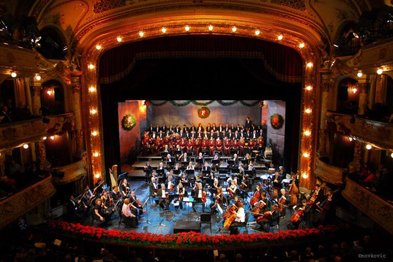 Božićni koncert Hrvatskoga narodnog kazališta u Zagrebu