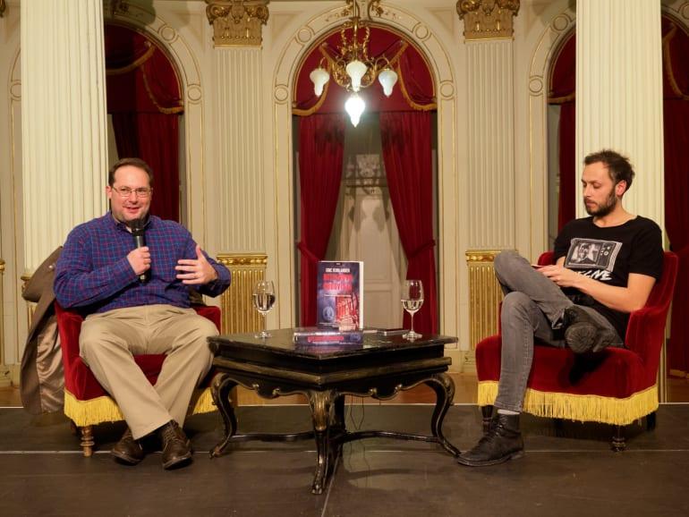 Američki povjesničar Eric Kurlander gostovao u HNK u Zagrebu