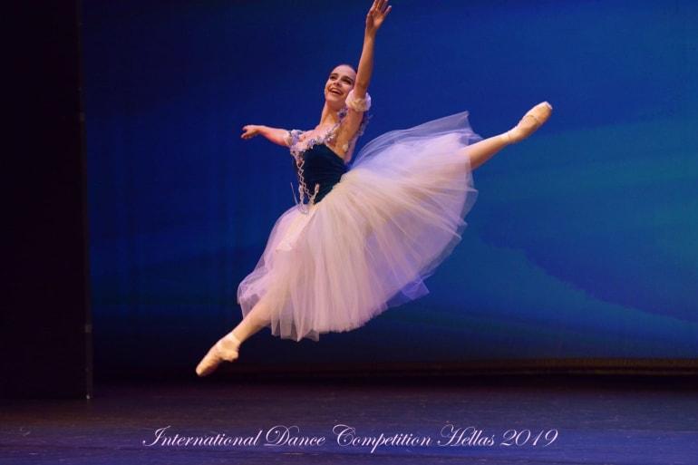 Prvo mjesto na plesnom natjecanju u Grčkoj