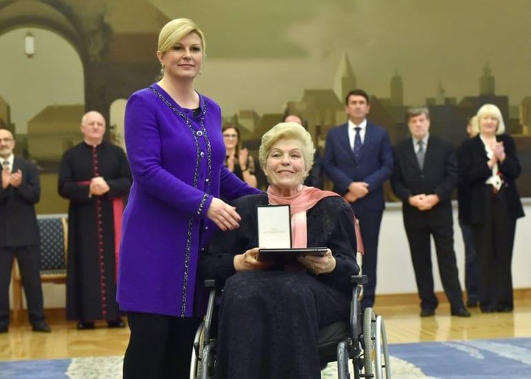 Redom Ante Starčevića odlikovana Blaženka Milić