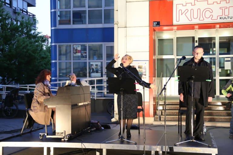 U opernim arijama uživali stanovnici zagrebačkog naselja Travno