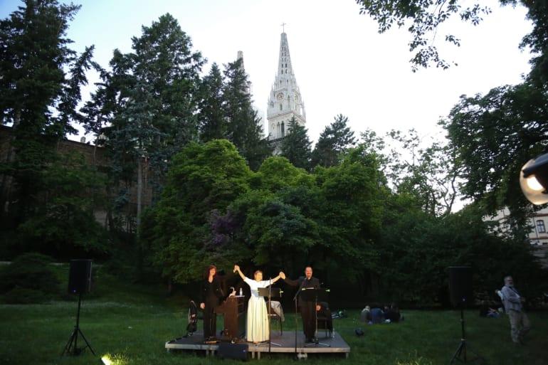 Koncert uz prekrasnu vizuru grada