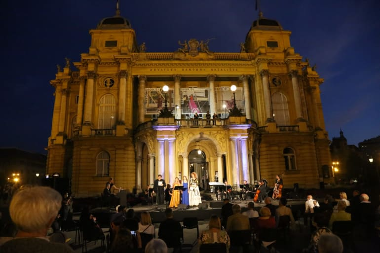 Otvorenje <em>Ljetnih večeri HNK u Zagrebu</em> - <em>Mediteranska noć</em>