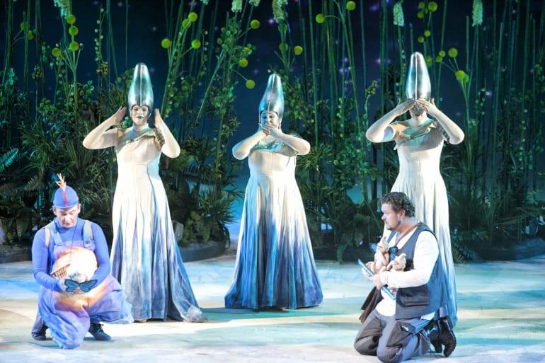 Polukoncertna izvedba opere <em>Čarobna frula</em>