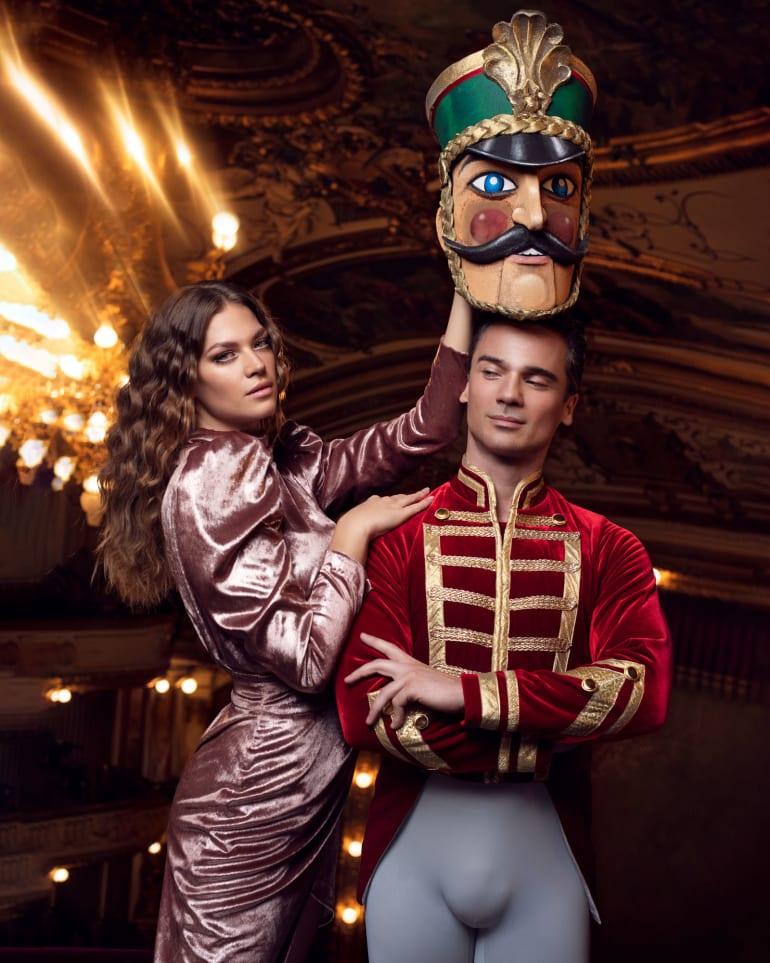 Jedinstvena suradnja s uspješnim dizajnerskim dvojcem u čarobnom svijetu baleta <em>Orašar</em>