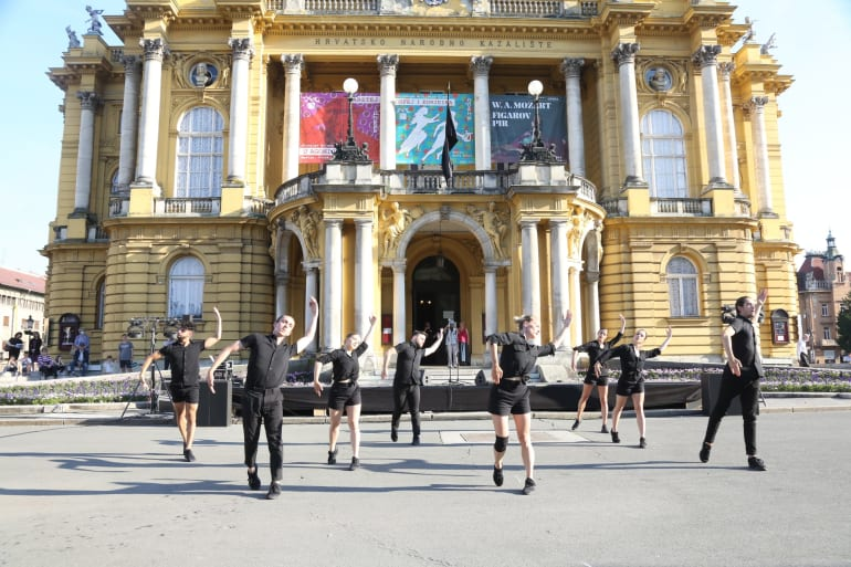 Hrvatskom praizvedbom <em>Ulomci iz koreografija Angelina Preljocaja </em> počeo <em> Festival Ljetne večeri HNK u Zagrebu</em>